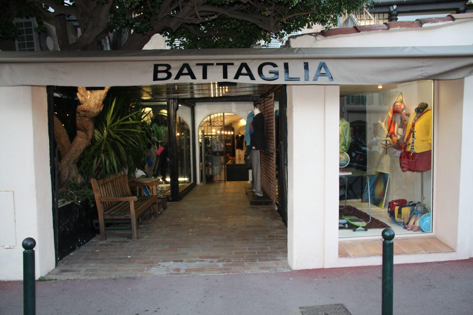 Battaglia Saint Tropez France
