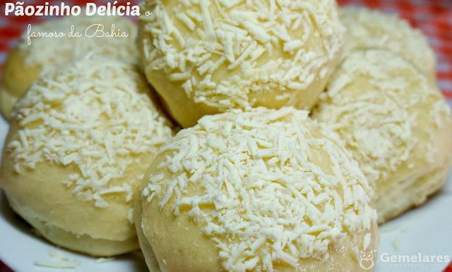 Pãozinho Delícia o famoso da Bahia - Vídeo Receita