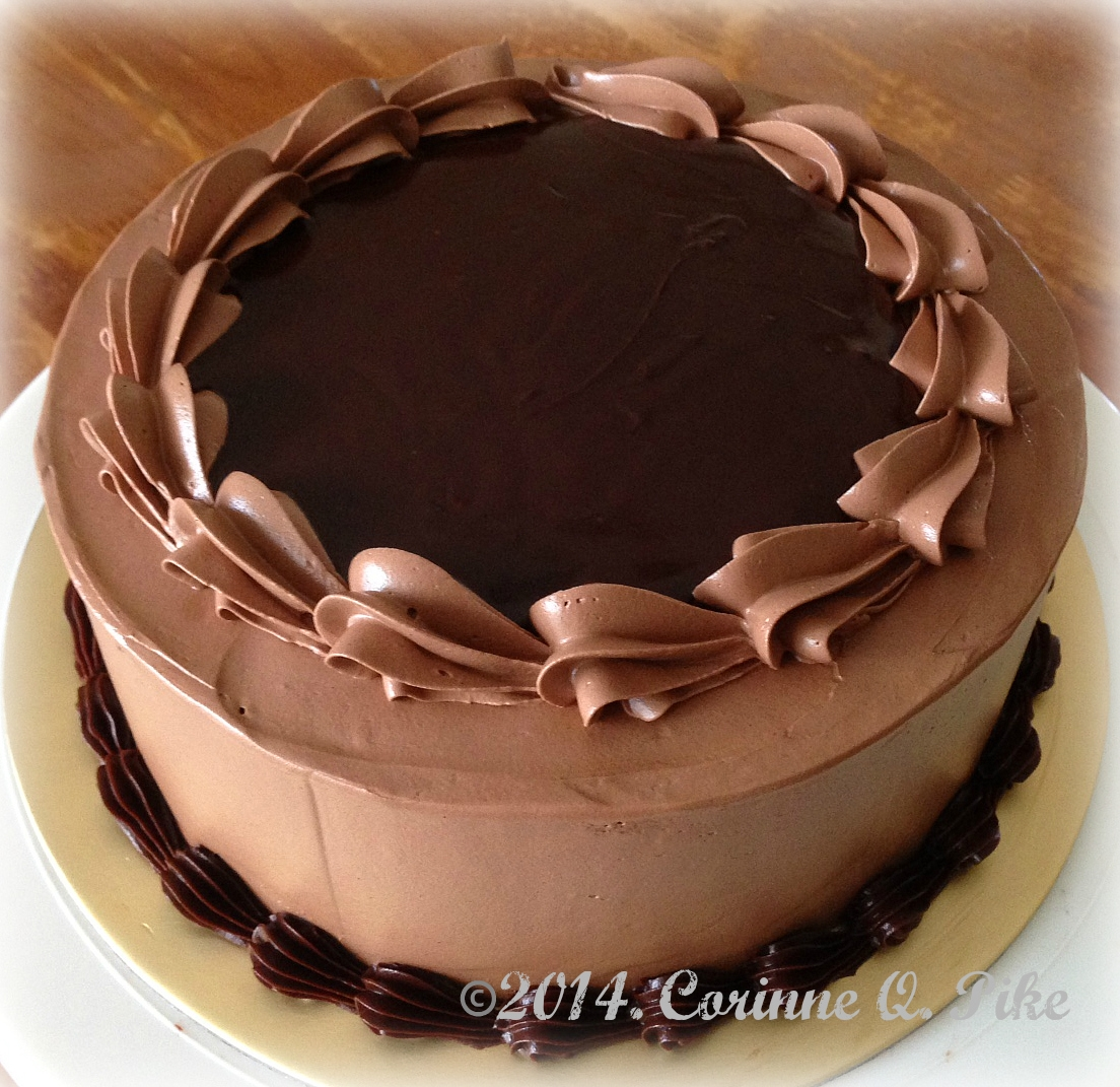 Heart Chocolate Cake Images : Heart of Mary: Triple Chocolate Cake