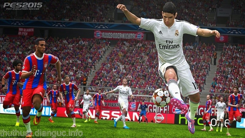 Download game Pro Evolution Soccer 2015-RELOADED