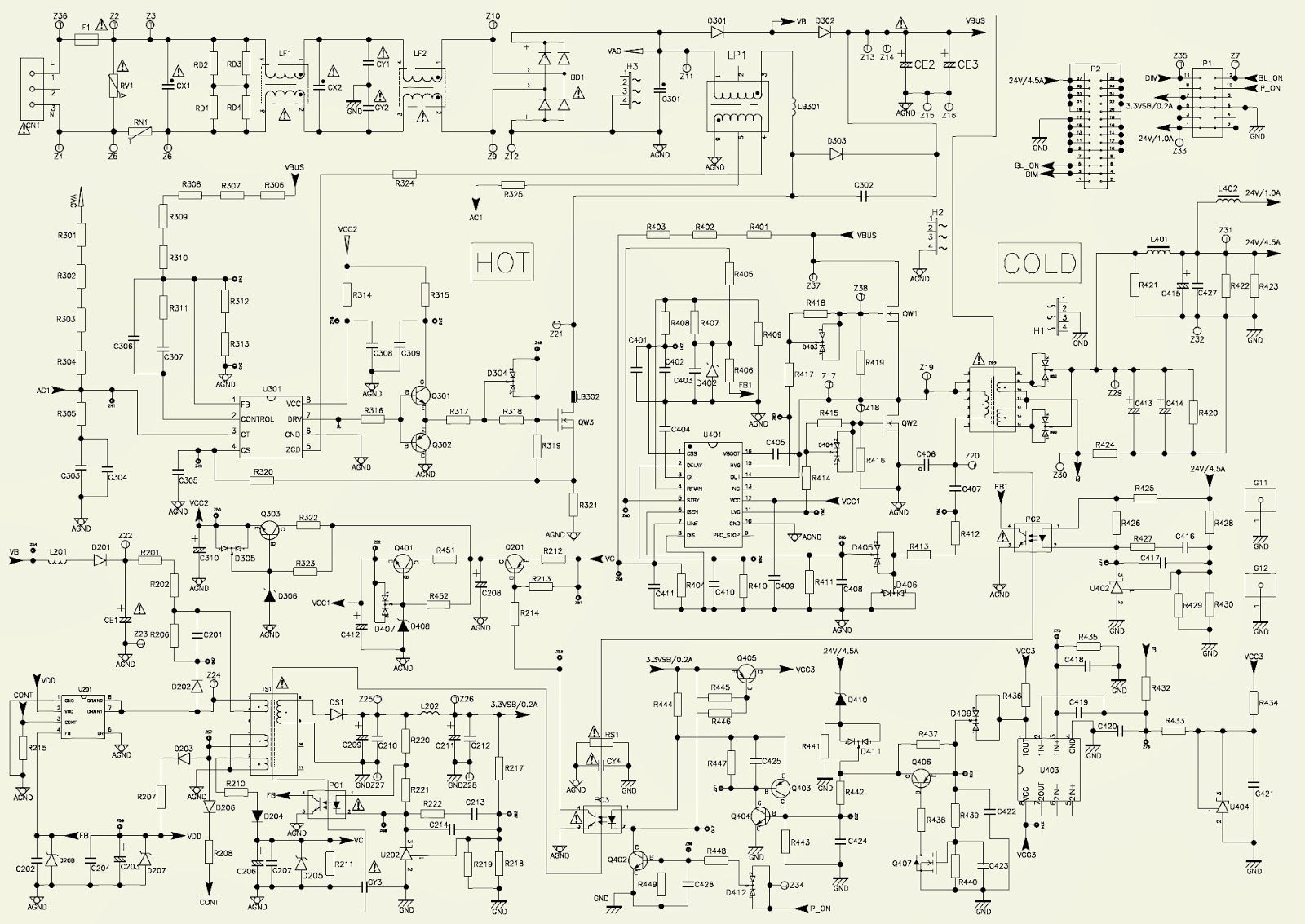 Lovely Smps Repair Manual Contemporary - Simple Wiring Diagram ...