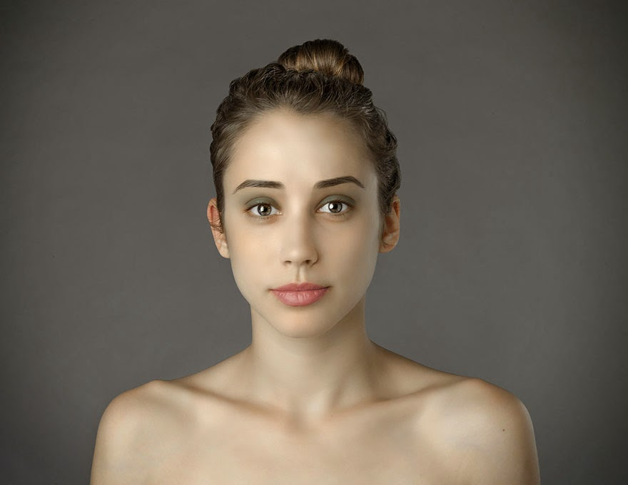 ITALY - Woman Had Her Face Photoshopped In More Than 25 Countries To Compare Their Beauty Standards