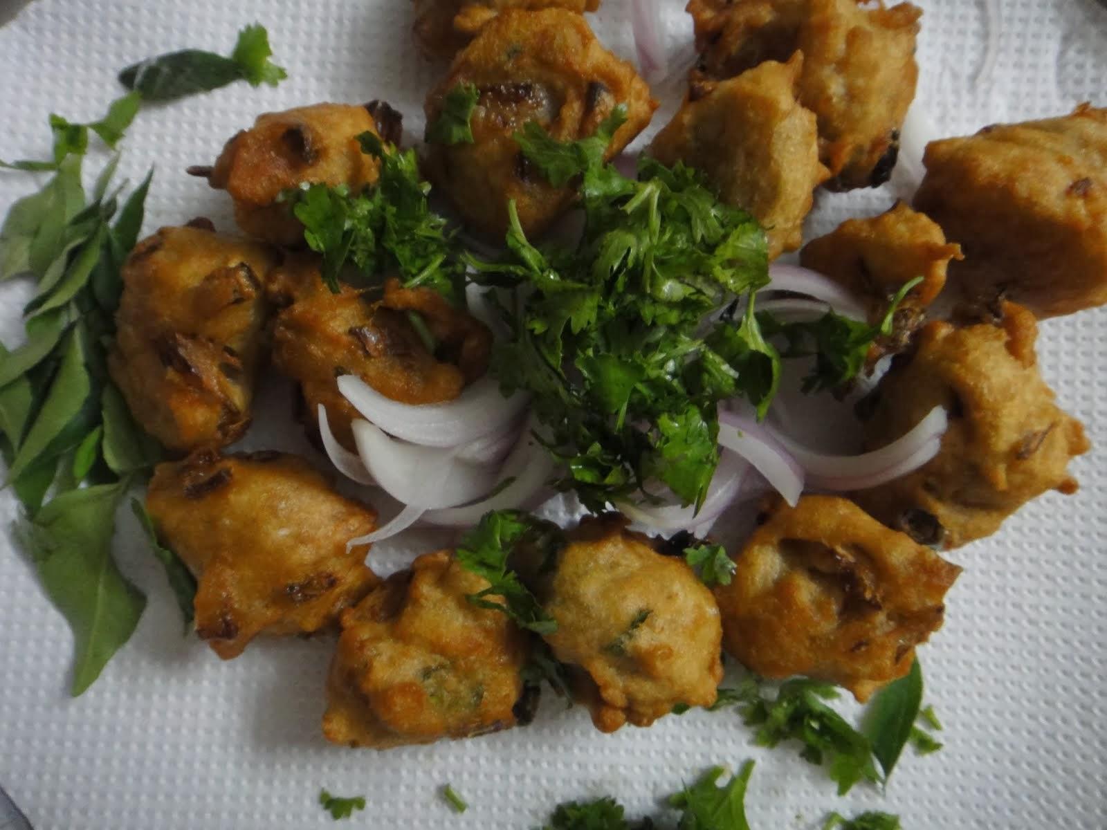 Spicy Hot Cabbage Bonda - South Indian Evening Tea-time ...