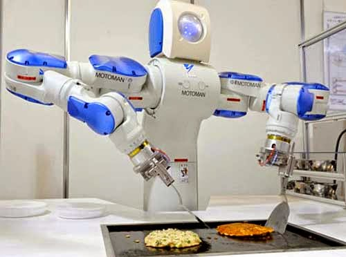 Notes from the vomitorium - Robot supreme chef ...