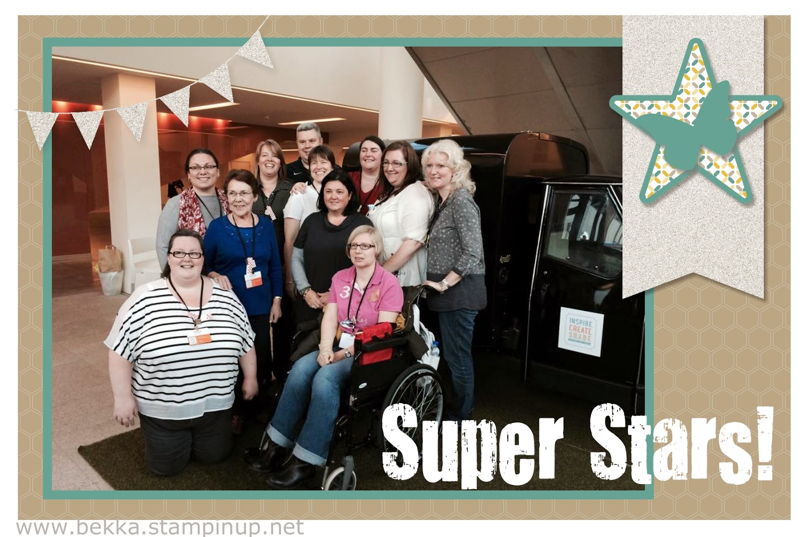 Super Stars at Stampin' Up! Convention 2014 - join the best crafty club here!