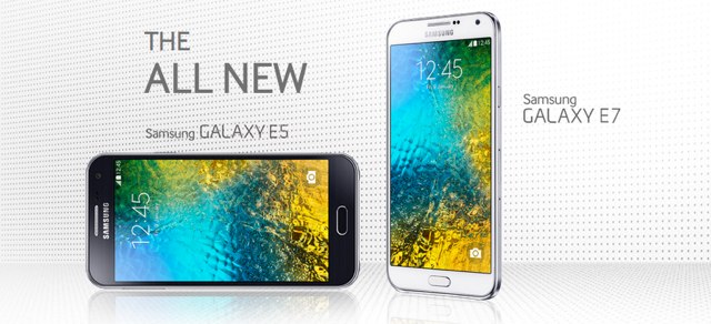 Samsung Galaxy E5 and E7