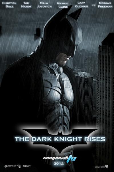 The Dark Knight Rises DVDRip Subtitulos Español Latino Película 2012
