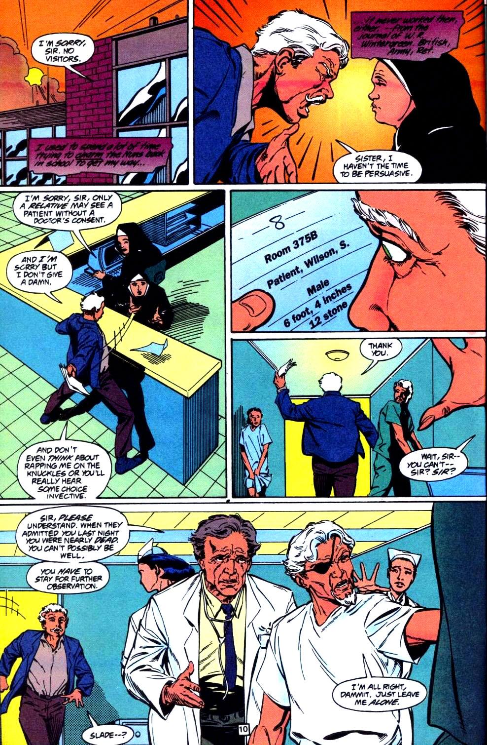 Deathstroke (1991) Issue #35 #40 - English 11