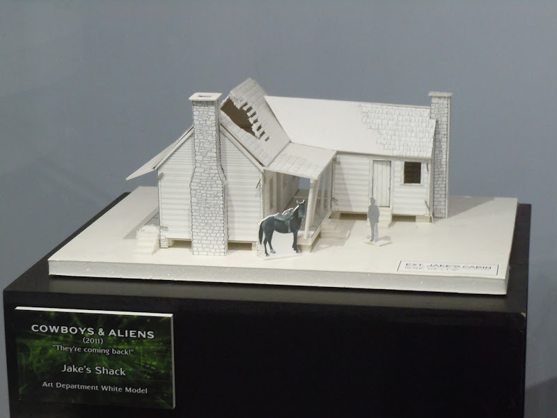 Cowboys and Aliens Jake's Shack model