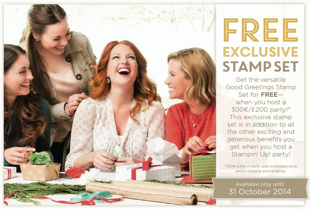 Hostess Promotion - Free Stamps!