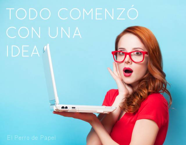 Crear un blog en blogger empieza con una idea