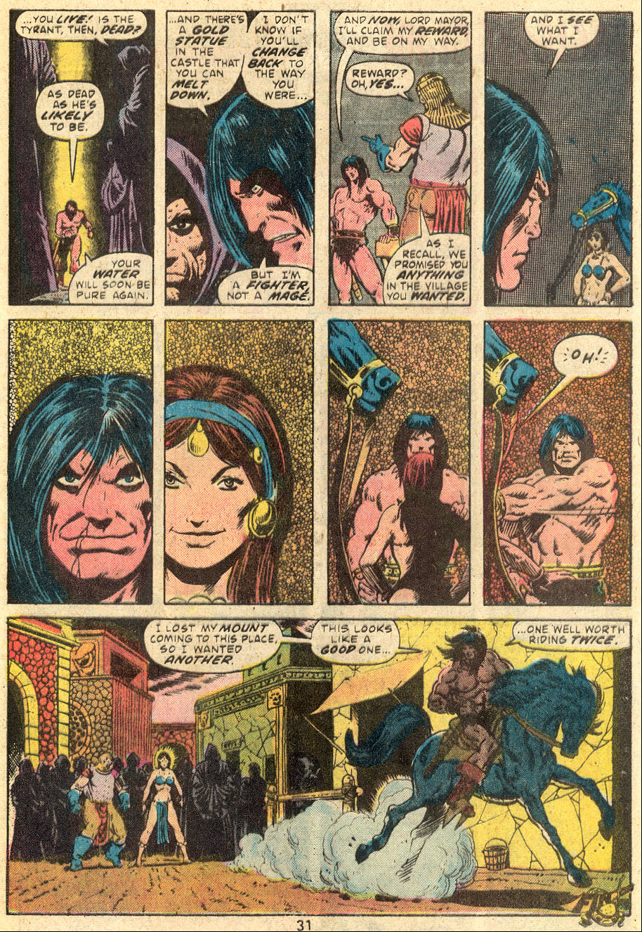 Conan the Barbarian (1970) Issue #64 #76 - English 20