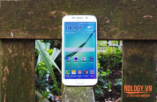 Đánh giá Samsung Galaxy S6 Edge Docomo màn hình cong độc đáo