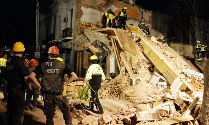 Responsables del derrumbe de Villa Urquiza, al borde del juicio oral