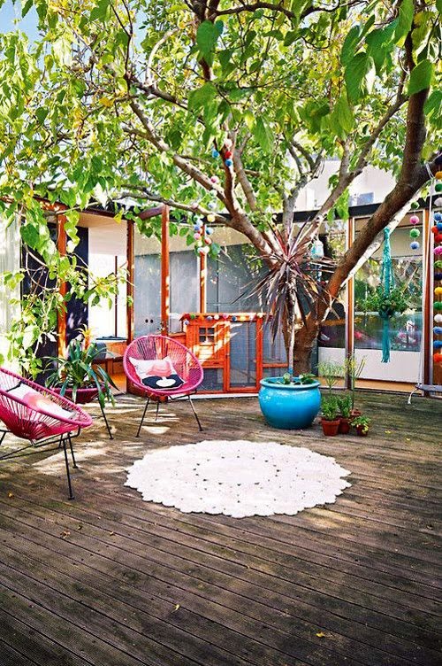 exterior sillas acapulco rosas