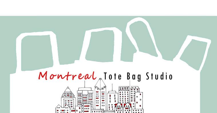 Montreal Tote Bag Studio