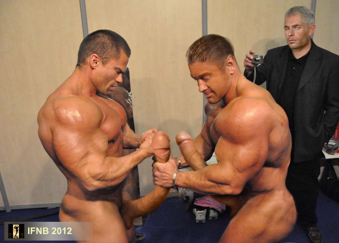 Iron Man Naked Body Builders