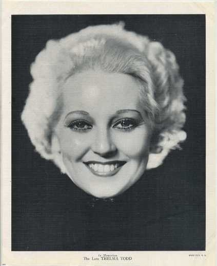 thelma todd height