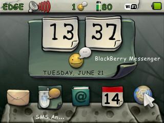 Theme Blackberry : Free Download Theme Vintage Theme [ Blackberry Gemini 8520 ]
