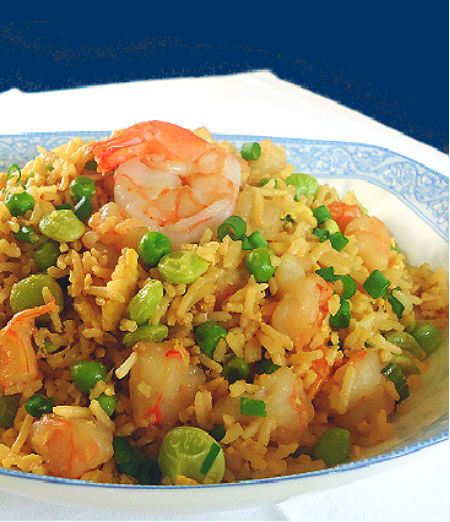 One Perfect Bite: Shrimp Fried Rice
