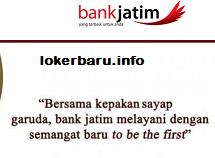 loker terbaru Bank Jatim