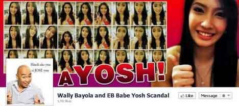 scandal yosh bayola Wally and