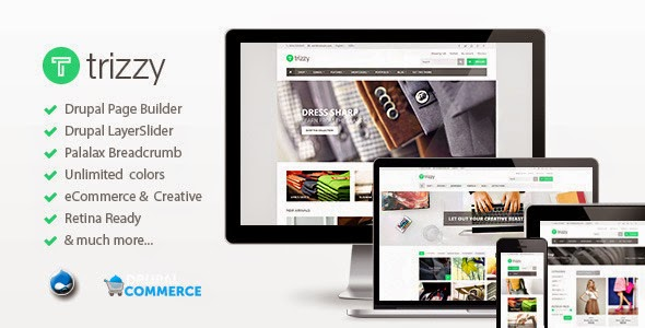 download Trizzy - Multi-Purpose eCommerce Drupal Theme