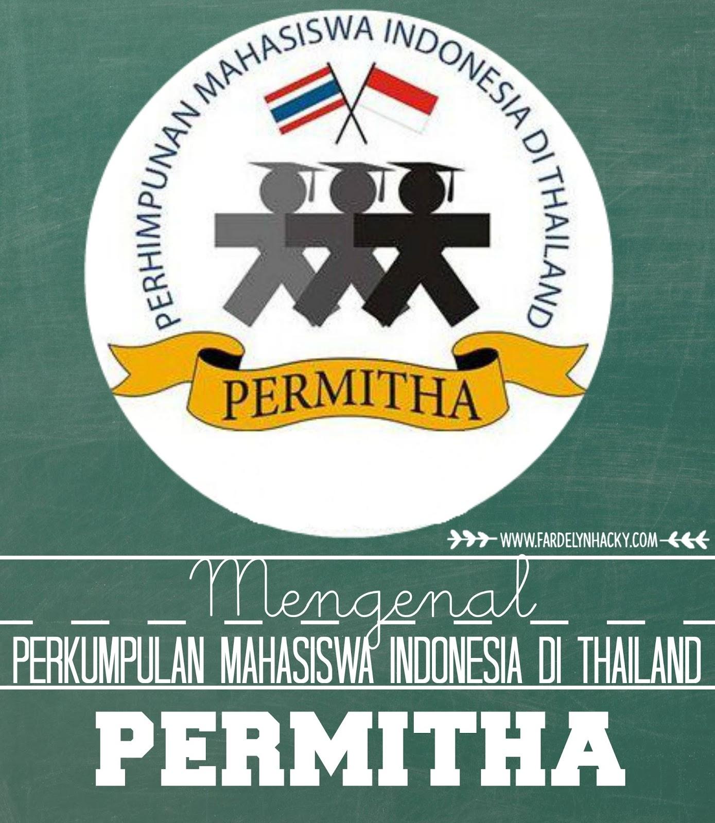 PERMITHA, Permitha, Permitha PSU, Perkumpulan Mahasiswa Indonesia di Thailand