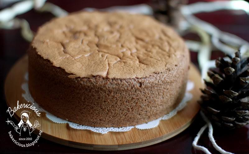 Bakericious: Chocolate Sponge Cake
