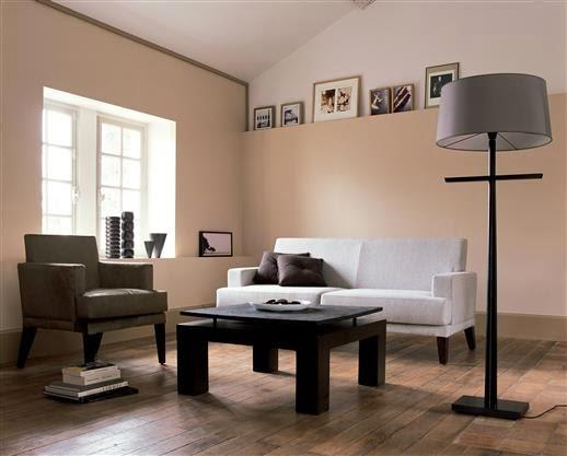 Salas color arena salas con estilo - Colores modernos para paredes ...