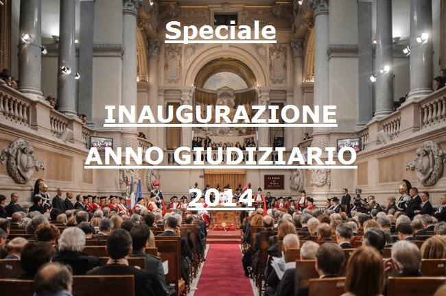 Speciale MEDIAZIONE E INAUGURAZIONE DELL'ANNO GIUDIZIARIO 2014