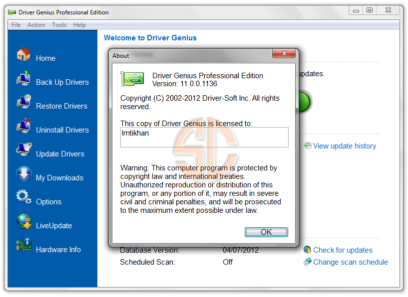 Driver Genius Professional Edition 11.0.0.1136 Full Version
