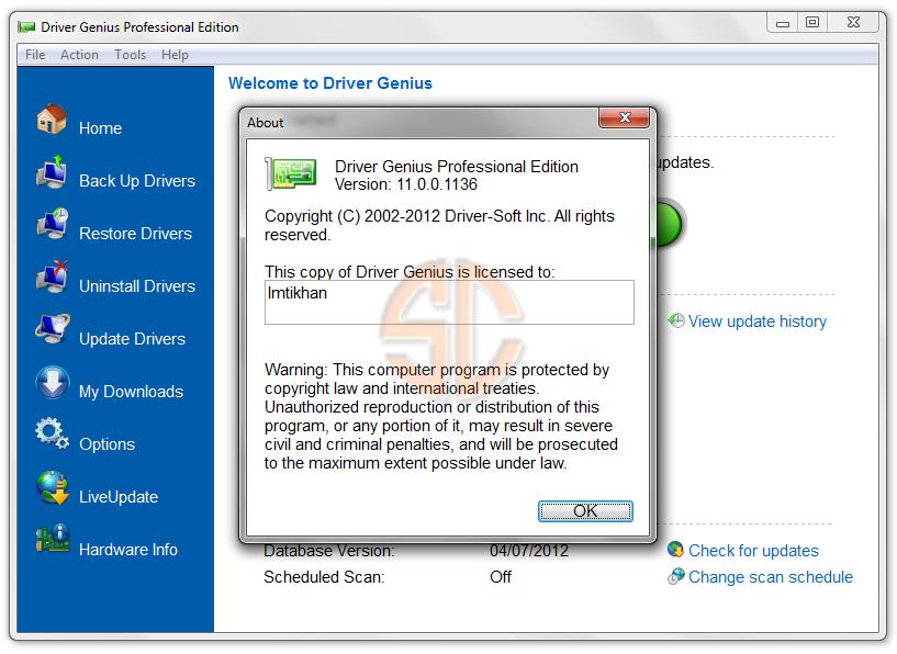 Driver Genius Professional Edition 11.0.0.1136 Full Version