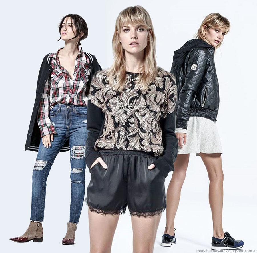 Melocotón otoño invierno 2015 camperas, blusas, jeans, moda otoño invierno 2015.
