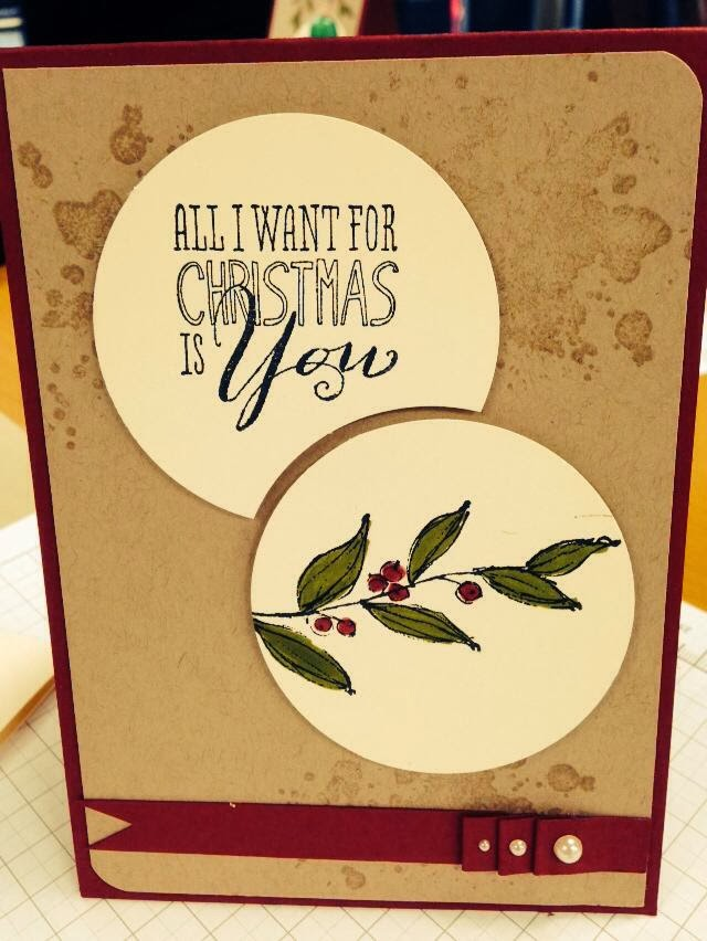 Stampin'up christmas messages