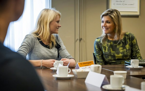 Dutch, Queen Maxima visited at the Foundation in Doorn