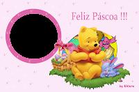 Páscoa ursinho e amigo