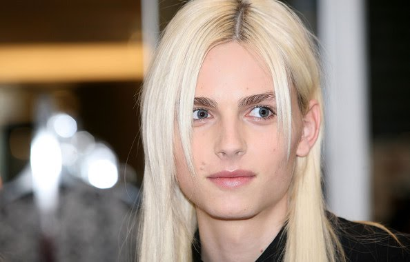 the hermaphrodite andrej pejic was spotted today at the reopening of ...