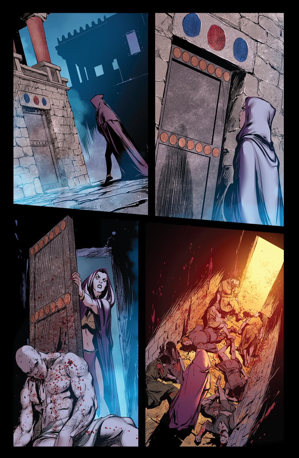 Queen of Vampires Issue #7 #7 - English 16