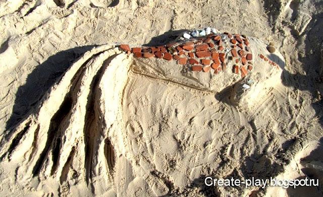 фигуры из песка, Тунис