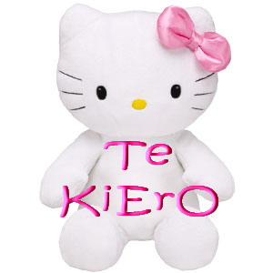 gifs de te quiero  en hello kity