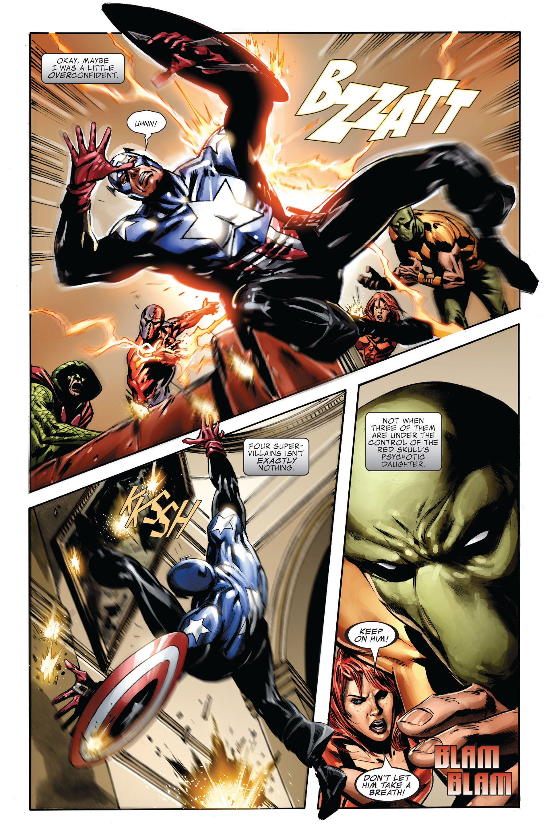 Captain America (2005) Issue #36 #36 - English 3