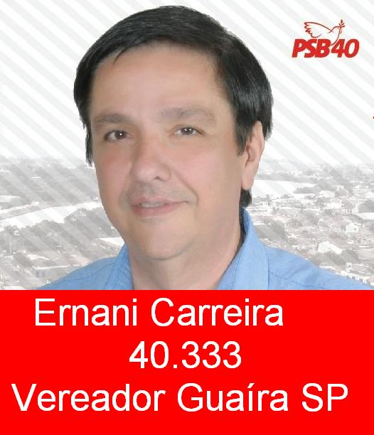 Ernani Carreira 40.333 Candidato Vereador Guaira SP