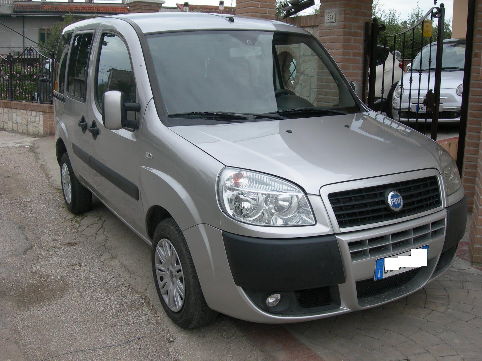 FIAT DOBLO' 1.9 M.JET 120 CV MOD: N1 AUTOCARRO+TRAS.PERSONE ANNO 2006 130.000 KM