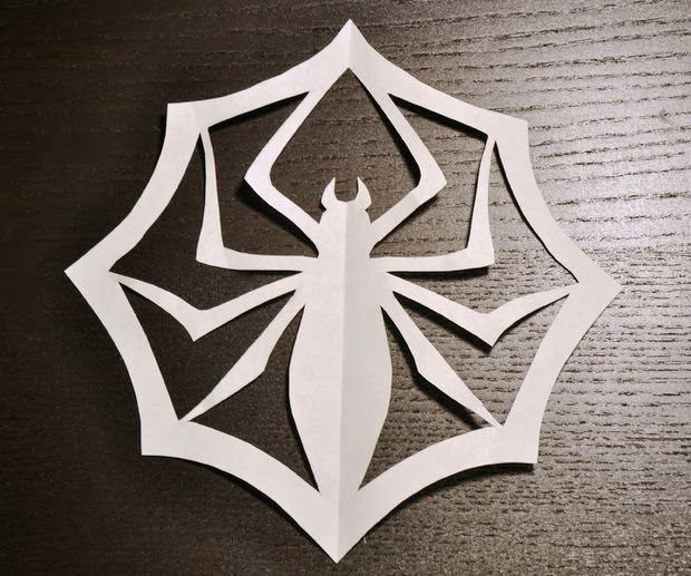 http://www.instructables.com/id/Jacks-Paper-Spider-Snowflake/