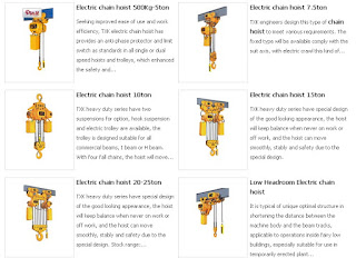 Electric Hoist Equipment