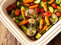 Legumes com Azeite de Ervas (vegana)