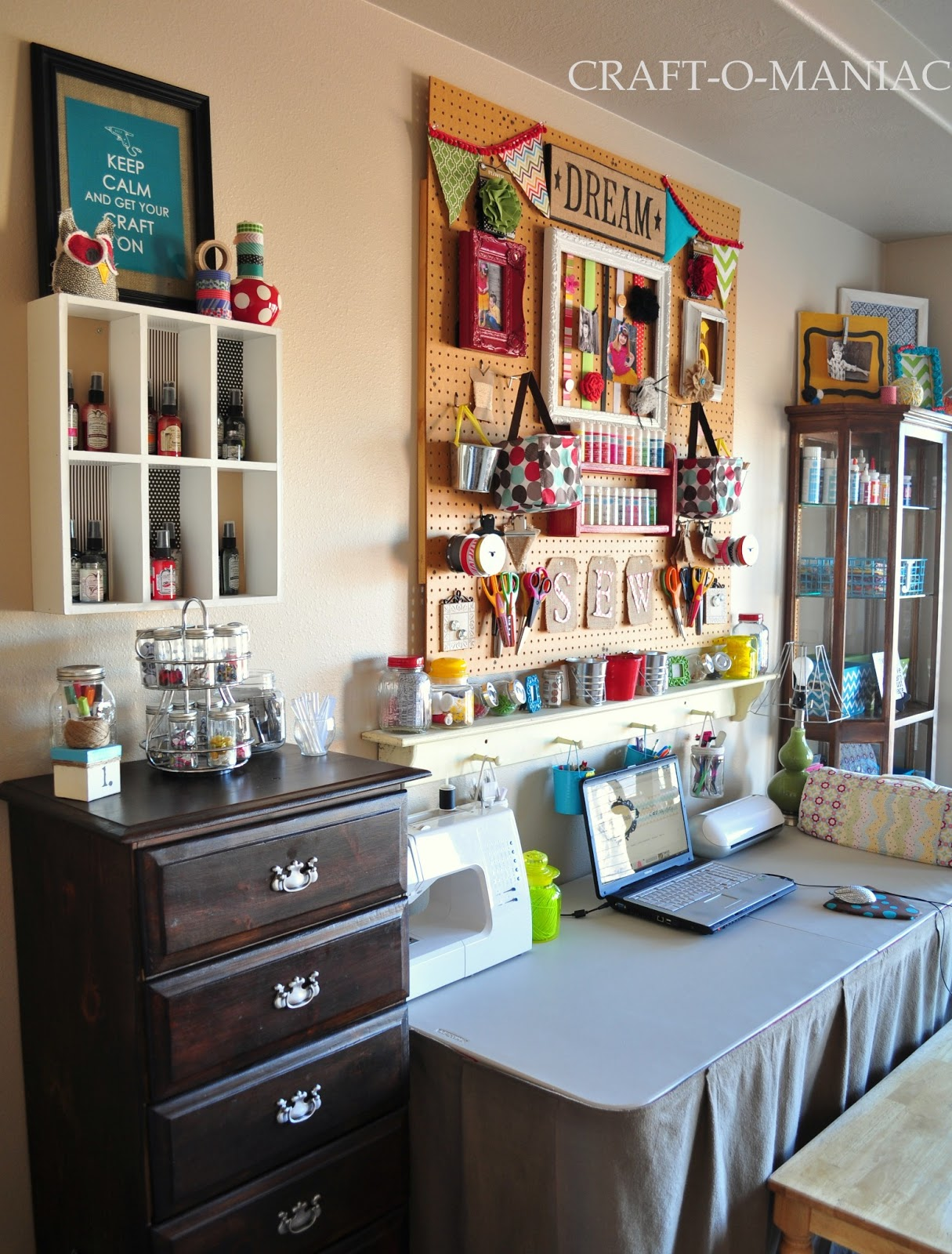 Craft room cabinets idea - That S It