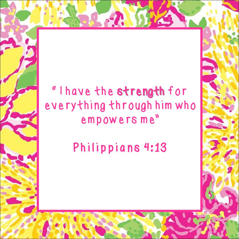 encouraging bible verse | just b.CAUSE