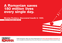 Why I Love Romania?  De Ce Iubesc Romania? Nicolae Paulescu poster
